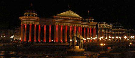 Бела ноќ по повод 25 години незвисност на Република Македонија