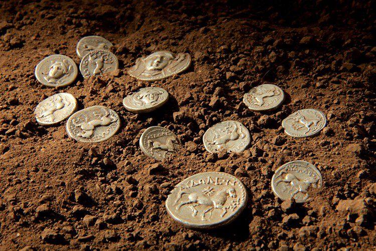 Ancient numismatic collection