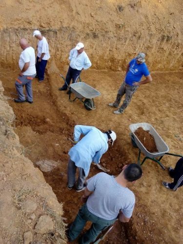 Read more about the article Завршено второто археолошко истражување на античкиот локалитет Гимбабица