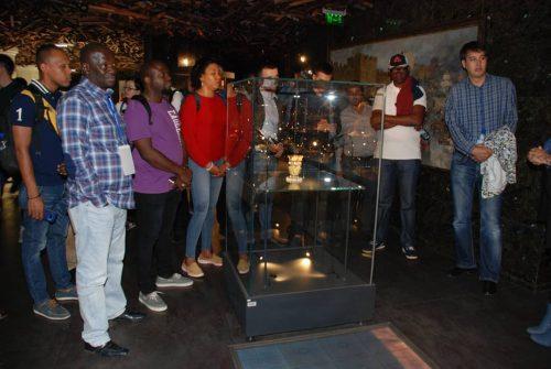 Read more about the article Членовите на Светската царинска организација во посета на музејот