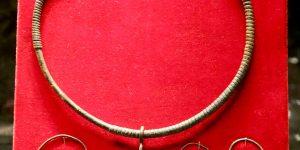 Дел од украс за војник и жена од Комани-Крује културата, VII/VIII век