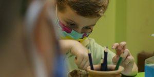 """Археолошкиот музеј дел од програмата на првиот фестивал на детска креативност Трамболини, организирана од Детски културен центар """"Карпош"""""""